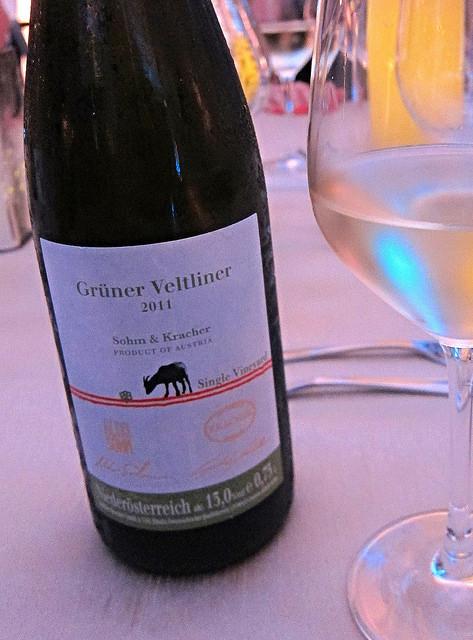 Solim & Kracher, Single Vineyards, Gruner Veltliner, 2011