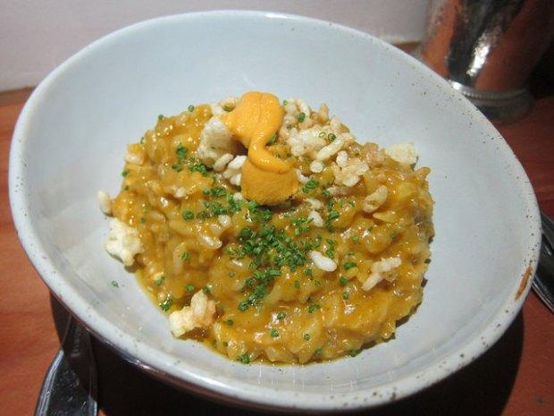 lobster uni rice