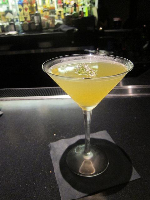 Kina-herb daiquiri martini