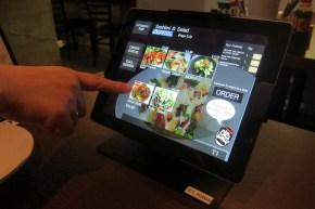 ipad ordering system