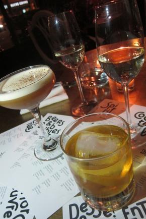 drinks at Cadet