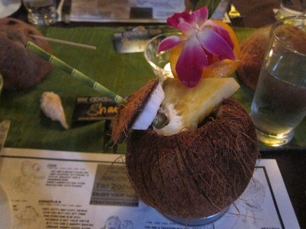 Coconut Club Cocktail