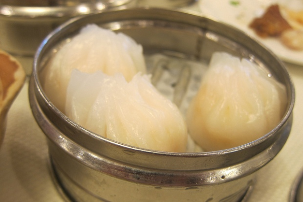 crystal shrimp (har gow)