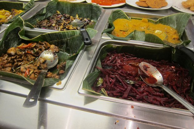 the Curry Leaf buffet