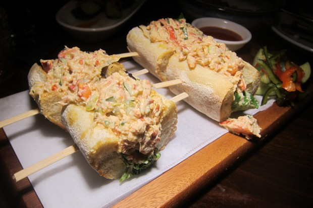 lobster po boy