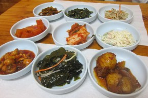 good selection of banchan