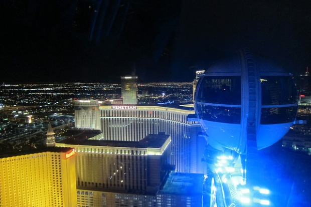 view from High Roller