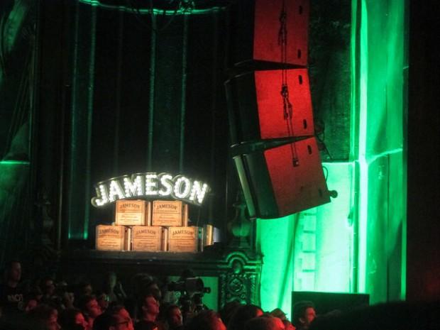 major sponsor, Jameson Irish Whiskey