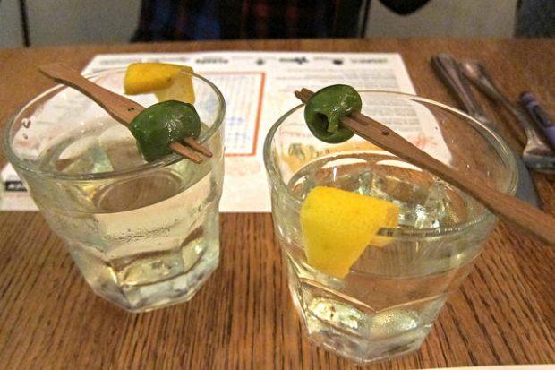 vermouth drink from Devon