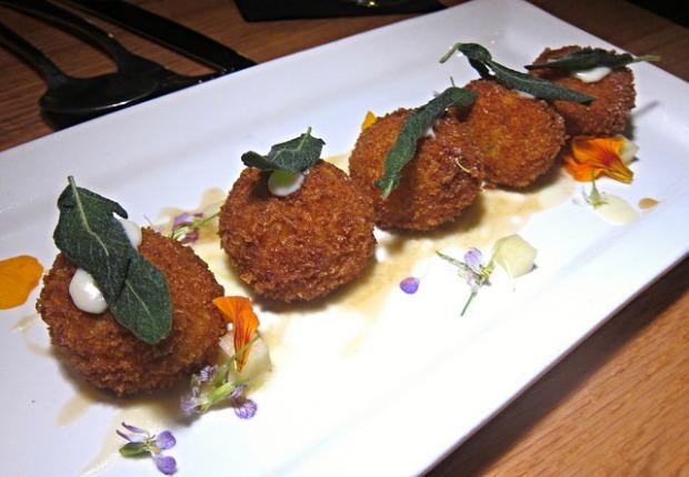 arrancini with butternut squash