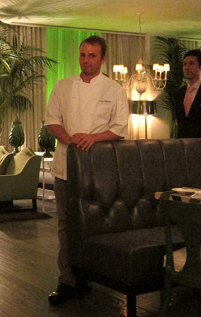 Chef Tony DiSalvo, Cast at the Viceroy