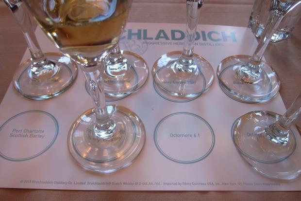 Bruichladdich tasting