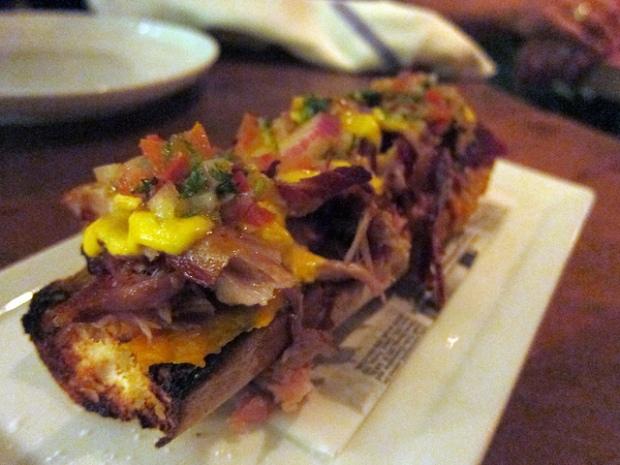 Chef Ricardo Zarate's pork ribs