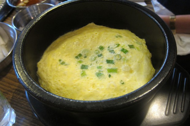 steamed egg