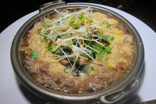 foie gras sukiyaki