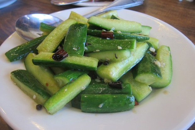 Grandma's pickled cucumber