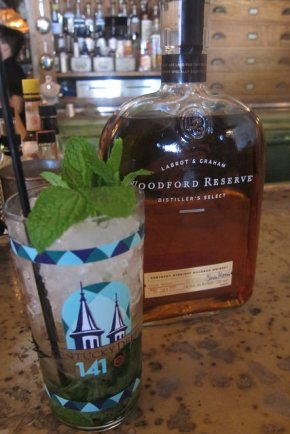 Mint Julep in official Churchill Downs glass