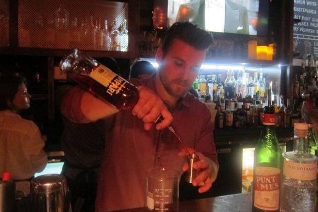 Bar Manager Mike West at Social Costa Mesa