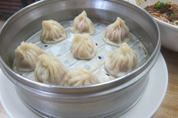 pork and crab xiao long bao