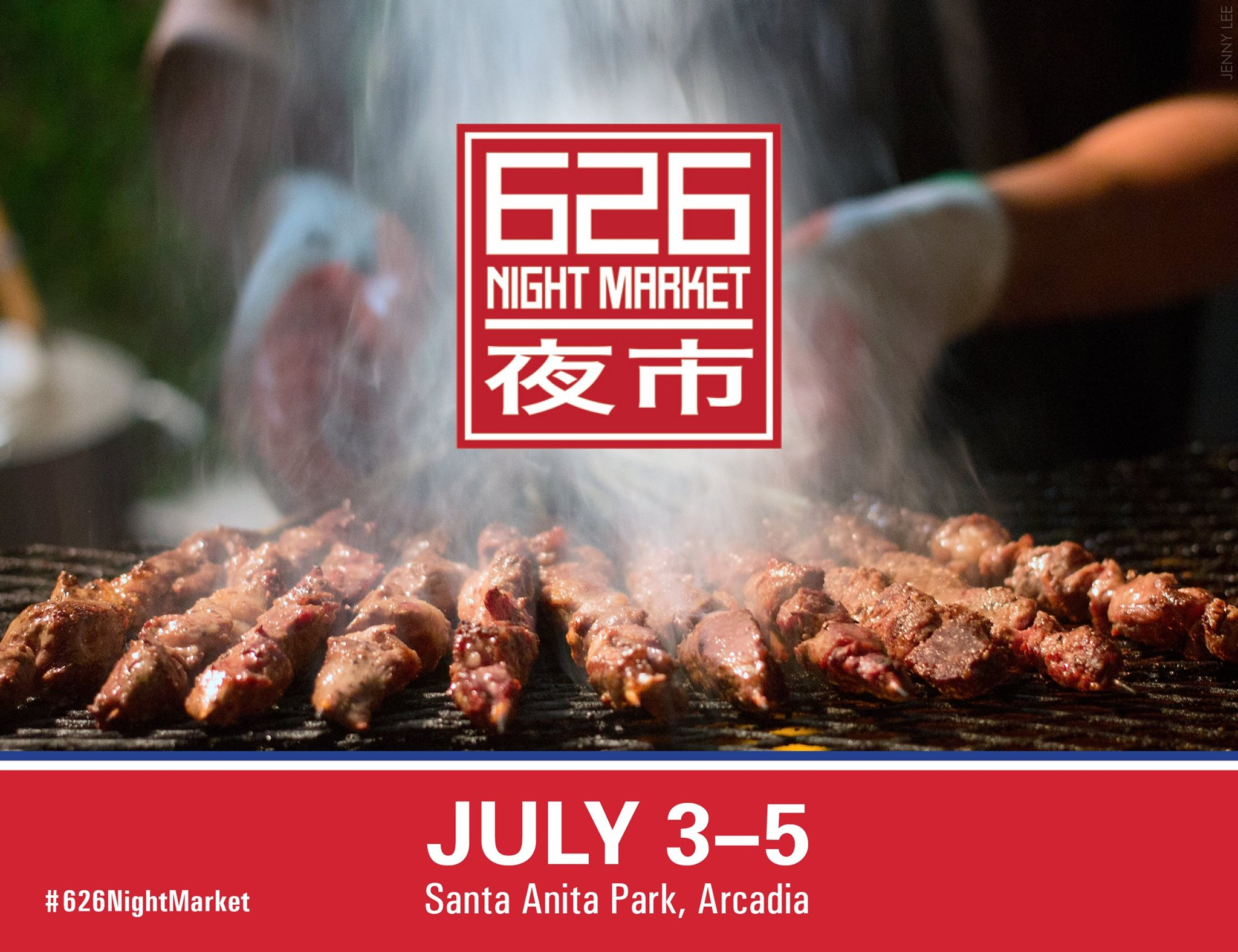 626 Night Market At Santa Anita Park All Summer The Minty