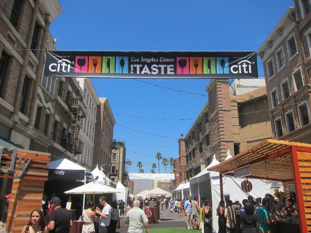 The Taste at Paramount Studios