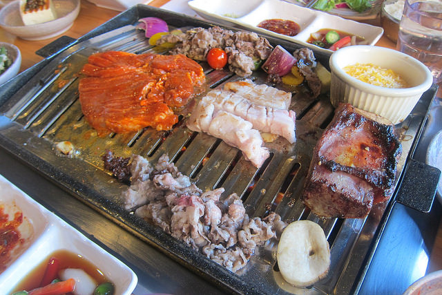 Koreatown Checking Out Quarters Korean Bbq The Minty