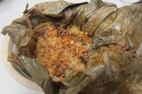 mushroom tamale