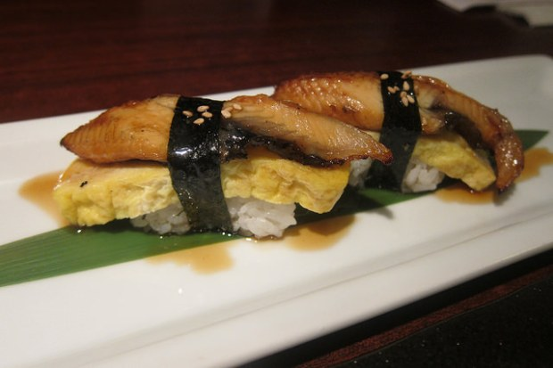 unagi and egg