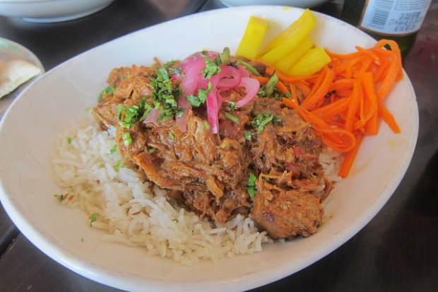 Punjabi pulled pork