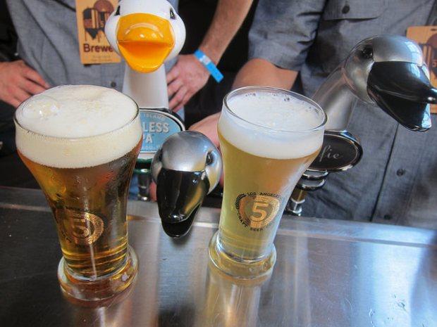 beer at Golden Gopher