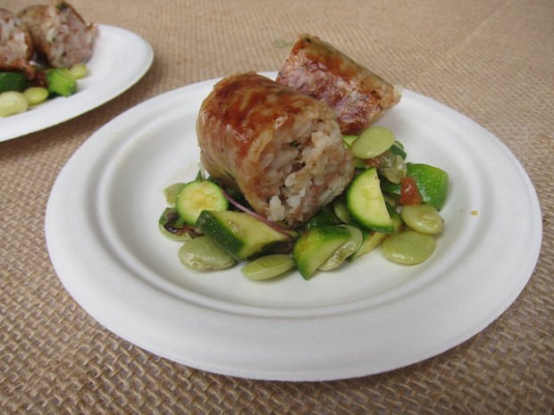 boudin from Chef Donald Link, New Orleans