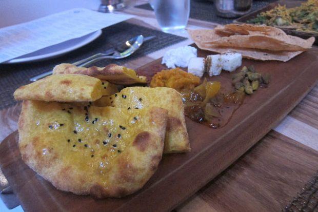 cheese thali