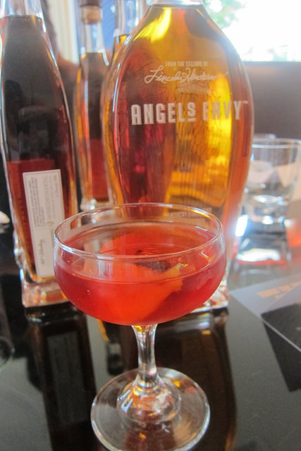 Boulevardier with Angel's Envy bourbon