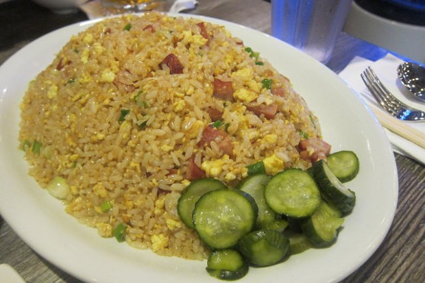 behold, the spam fried rice!