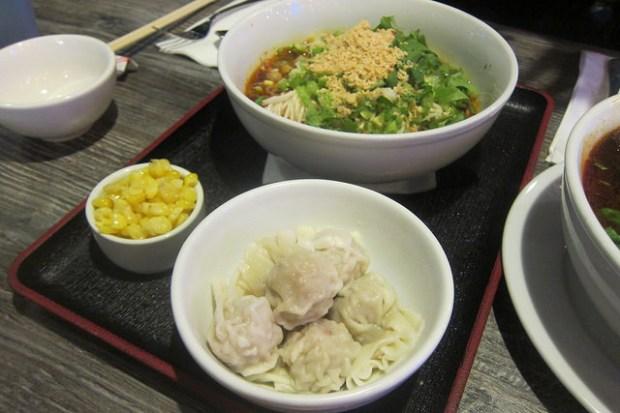 super spicy and sour dumplings