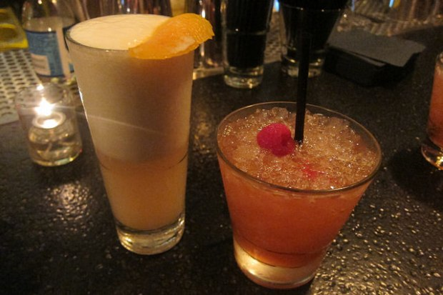 Strawberry Banke Fizz and Pershing Square Fix