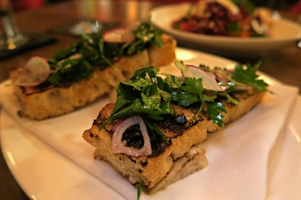 roasted bone marrow toast
