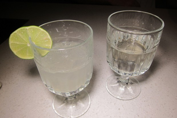 sake and Pot's Paloma