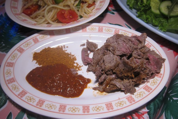 flank steak (jin tup roht dil)