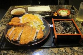 tonkatsu (pork katsu) set