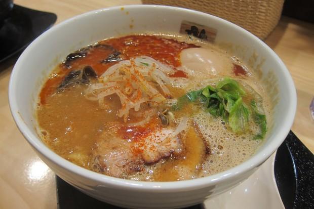 spicy miso tonkotsu