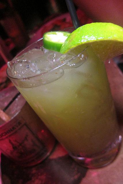 Jalepeno Lime Margarita