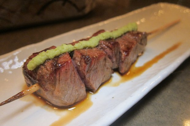 beef with wasabi