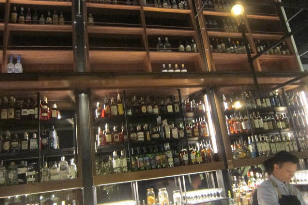 the bar at Otium