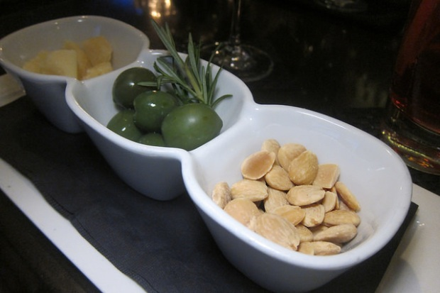 cheese, olives, nuts