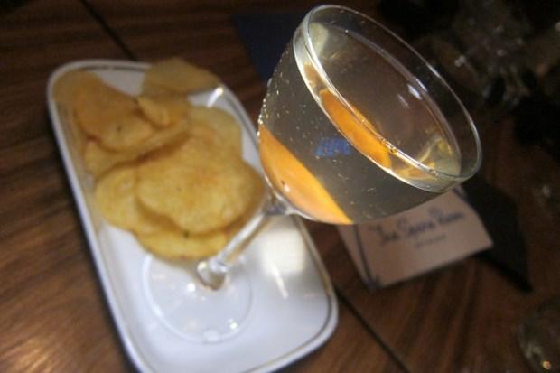 Salt and Vinegar Martini