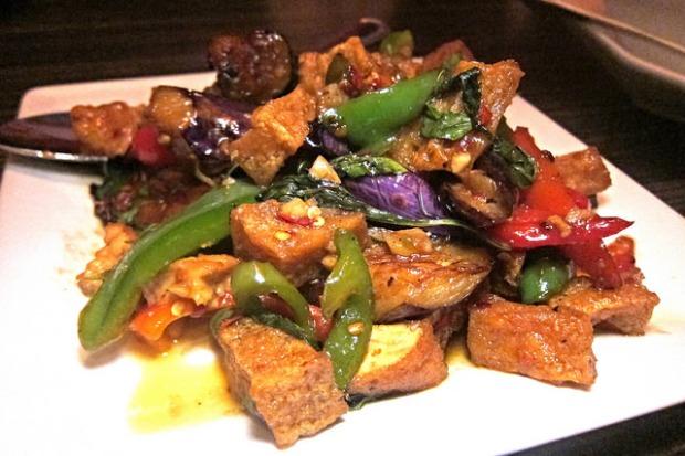 eggplant with tofu