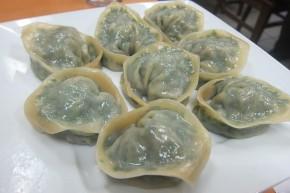leek and pork dumplings