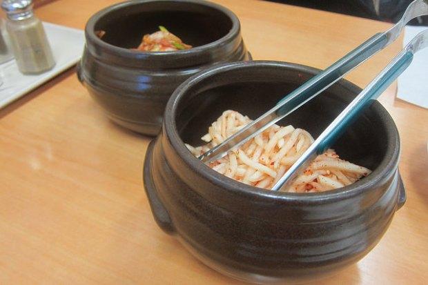 self-serve kimchi