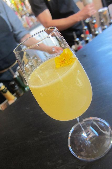 Mezcal champagne